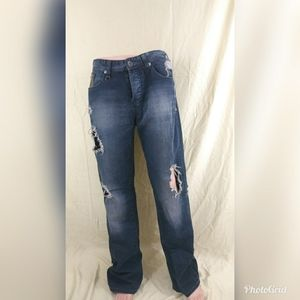 G by Guess Size 36 Ripped Distressed Jeans